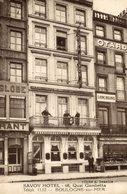 BOULOGNE Sur MER -QUAI GAMBETTA, Hotel Savoy. Francia France Frankreich - Boulogne Sur Mer