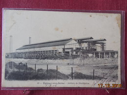 CPA - Epinay-sur-Seine - Ateliers De Distillation - France
