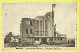 * Westouter - Westoutre (Heuvelland - Ieper - Ypres) * Mont Rouge, Rodeberg, Hotel Kosmos, Unique, TOP, Rare - Heuvelland