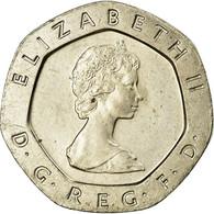 Monnaie, Grande-Bretagne, Elizabeth II, 20 Pence, 1982, SUP, Copper-nickel - 20 Cents