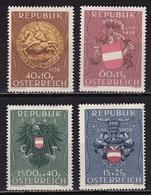 Osterreich /  Austria 1949 Prisoners Of War Complete MH Set Mi 937 / 940 - 1945-.... 2de Republiek