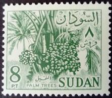 Soudan Sudan 1962 Arbre Tree Palmier Palmtree Fruit Yvert 153 ** MNH - Sudan (1954-...)
