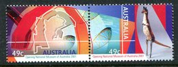 Australia 2001 Opening Of The National Museum, Canberra Set MNH (SG 2075-2076) - 2000-09 Elizabeth II