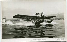 HYDRAVION Et PORTE AVIONS - LOT De 4 CPSM  - - Aviation