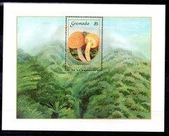 Hoja Bloque De Granada Nº Yvert 9153 ** SETAS (MUSHROOMS) - Grenada (1974-...)