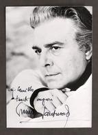 Cinema Teatro - Autografo Dell'attore Gianni Santuccio - Anni '60 - Autografi