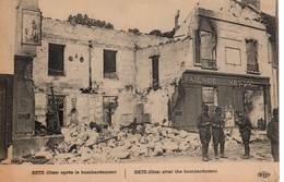 BETZ (Oise) - Après Le Bombardement - Francia