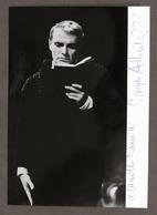Cinema Teatro - Autografo Dell'attore Giorgio Albertazzi - Anni '60 - Autografi