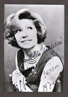 Teatro Cinema Televisione - Autografo Dell'attrice Lida Ferro - 1970 - Autografi