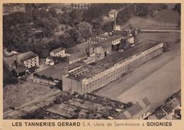 619 Soignies  Les Tanneries Gerard Usine De Saint Antoine - Soignies