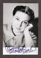 Teatro Cinema - Autografo Dell'attrice Paola Borboni - 1969 - Autografi