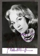 Cinema Teatro - Autografo Dell'attrice Eva Magni - Anni '60 - Autografi