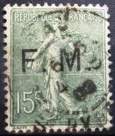 FRANCE              F.M 3              OBLITERE - Franchise Militaire (timbres)