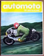 AUTOMOTO N° 27 . Francois Cevert . Montesa 250 King Scorpion . 15 Juillet 1971 - Auto/Moto