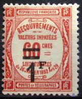 FRANCE              TAXE 53             NEUF* - 1859-1955 Neufs