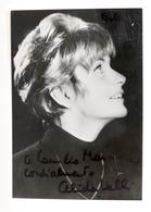 Cinema - Autografo Dell'attrice Alida Valli - Anni '60 - Autografi