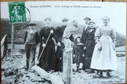 N°129 LE MONTREUR DE SINGE A PLOUHA 22 (1905) ADECA NEUDIN 1978 TIRAGE N° 852/1000 SINGE DE PALUS PRENANT SON ABSINTHE - Singes