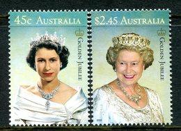 Australia 2002 Golden Jubilee Set MNH (SG 2170-2171) - 2000-09 Elizabeth II