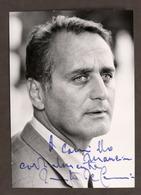 Cinema Teatro - Autografo Dell'attore Renato De Carmine - Anni '60 - Autografi