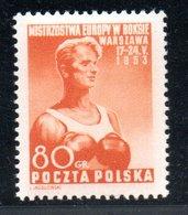Pologne /  N 707 / 80 Gr Orange  / NEUF** / Côte 17.50 € - 1944-.... Republic