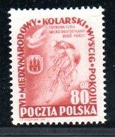 Pologne /  N 704 / 80 Gr Rouge Brun  / NEUF** / Côte 20 € - 1944-.... République