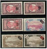 Martinique (1922) N 86 à 91 * (charniere) - Martinica (1886-1947)