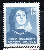 Pologne /  N 717 / 1z50 Bleu  / NEUF** / Côte 6.50 € - 1944-.... République
