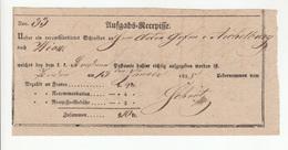 Austria Aufgabe-Recepisse 1838 B190715 - ...-1850 Vorphilatelie