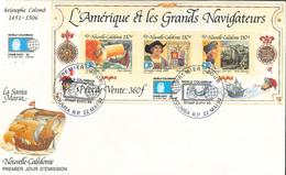 Eric Rouge - Kolumbus - Amerigo Vespucci Schiff Wappen     [PL-ROT 010] - Nueva Caledonia