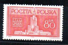 Pologne /  N 726 / 80 G Rose  / NEUF** / Côte 15 € - Neufs