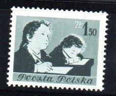 Pologne /  N 738 / 1z50 Vert  / NEUF** / Côte 10.40 € - 1944-.... République