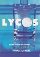 SANTE---LYCOS--vos Recherches Sur Internet Sans Prise De Tête...--voir 2 Scans - Santé
