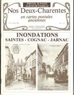 Nos Deux Charentes En Cartes Anciennes : Inondations Saintes-Cognac-Jarnac, 24 Pages, Bon état - France