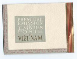 ASIE PREMIERE EMISSION Des TIMBRES POSTE Du VIET NAM - Viêt-Nam