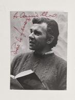 Cinema Televisione - Autografo Dell'attore Paolo Ferrari - Anni '60 - Autografi