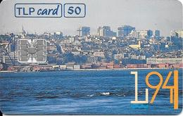 CARTE-PUCE-50 U-SC7-04/94-LISBOA 94 CAPITAL EUROPEV° N°9 Rge C441445537-UTILISE-TBE - Portugal