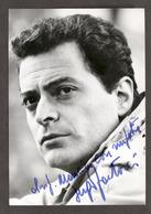 Cinema Teatro - Autografo Dell'attore Sergio Fantoni - Anni '60 - Autografi