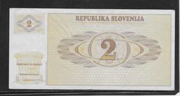 Slovénie - 2 Tolarjev - Pick N°2 - SUP - Slovénie