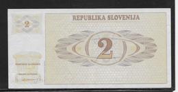 Slovénie - 2 Tolarjev - Pick N°2 - SPL - Slovenia