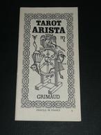 Rare Notice De Jeu De Cartes Oracle Cartomancie TAROT ARISTA, Tarots Divinatoire Voyance - Jeux De Société