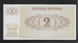 Slovénie - 2 Tolarjev - Pick N°2 - NEUF - Slovenia