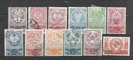 1937/38 - N. 635/46 USATI (CATALOGO UNIFICATO) - 1923-1991 USSR