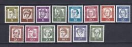 Berlin - 1961/62 - Michel Nr. 199/213 - Postfrisch - 14 Euro - Ungebraucht