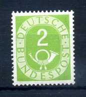 1951-52 RFT N.9 MNH ** 2p. - BRD