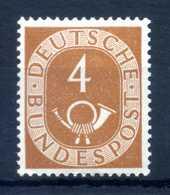 1951-52 RFT N.10 MNH ** 4p. - BRD