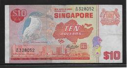 Singapour - 10 Dollars - Pick N°11 - TTB - Singapore