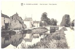 CPA 21 - FLEUREY Sur OUCHE (Côte D'Or) - 18. Pont Du Canal - Vieux Quartier - TBE - Autres Communes