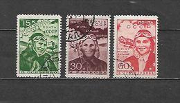 1939 - N. 705/07 USATI (CATALOGO UNIFICATO) - 1923-1991 USSR