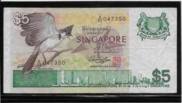 Singapour - 5 Dollars - Pick N°10 - TB - Singapore