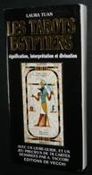 Rare Notice De Jeu De Cartes Oracle Cartomancie, Livre-guide Tarots Egyptiens Laura Tuan, Tarot - Boeken, Tijdschriften, Stripverhalen
